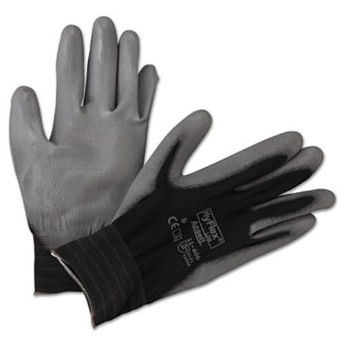 AnsellPro HyFlex Lite Gloves, Black/Gray, Size 9, 12 Pairs (ANS116009BK)