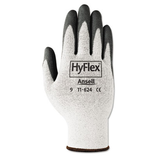 AnsellPro HyFlex Dyneema Cut-Protection Gloves, Gray, Size 10, 12 Pairs (ANS1162410)