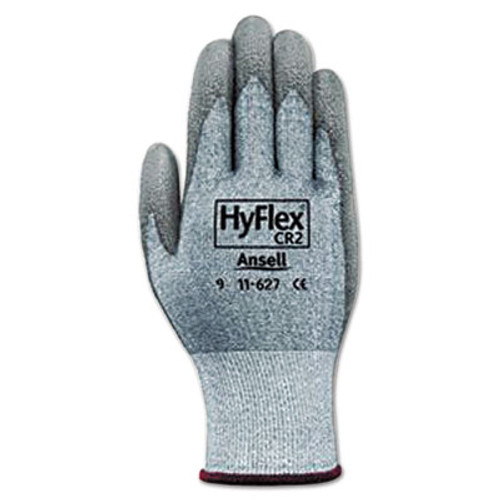 AnsellPro HyFlex 627 Light-Duty Gloves, Size 10, Dyneema/Lycra/Polyurethane, GY, 12 Pairs (ANS1162710)