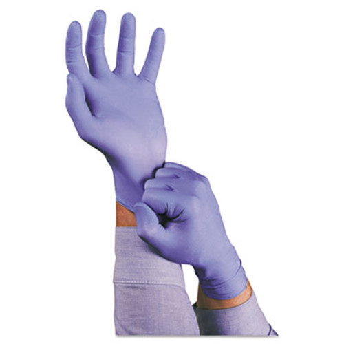 AnsellPro TNT Disposable Nitrile Gloves, Non-powdered, Blue, Medium, 100/Box (ANS92675M)