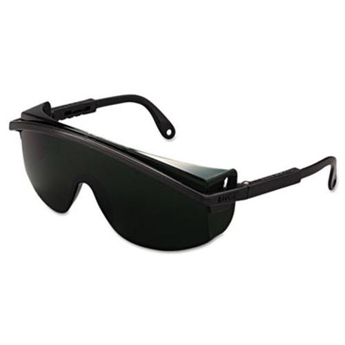 Honeywell Uvex Astrospec 3000 Safety Glasses, Black Frame, Shade 5.0 Lens (UVX S1112)