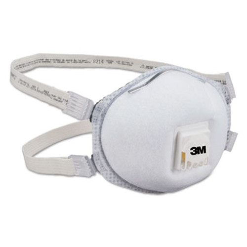 3M Particulate Respirator 8214, N95, 10/Box (MCO 66192)