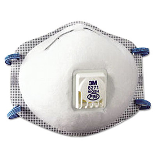 3M Particulate Respirator 8271, P95, 10/Box (MCO 54285)