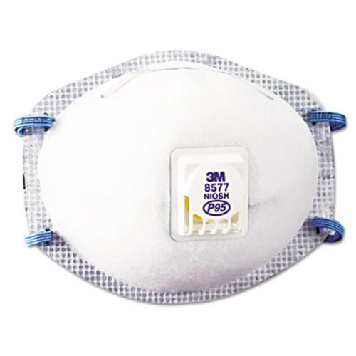 3M Particulate Respirator 8577, P95, 10/Box (MCO 54371)