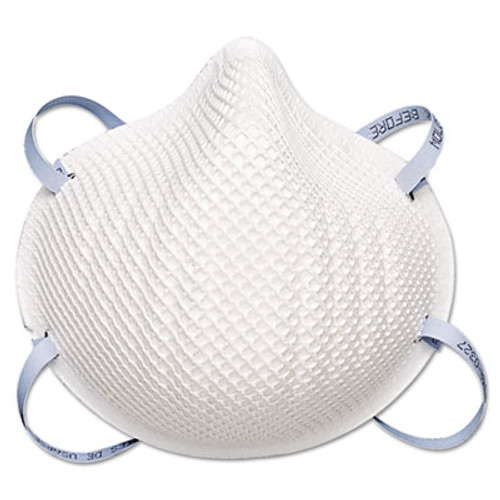 Moldex 2200N95 Series Particulate Respirator, Half-Face Mask, Medium/Large, 20/Box (MLX 2200N95)