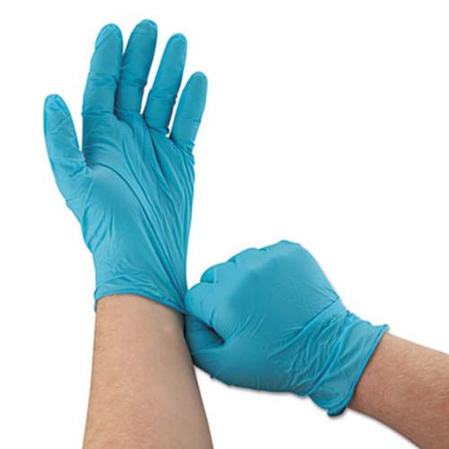KleenGuard* G10 Blue Nitrile Gloves, Powder-Free, Blue,242 mm Length,  Large, 100/Box (KCC 57373)
