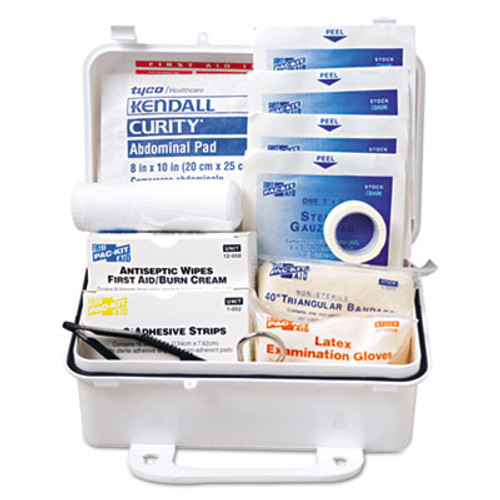 Pac-Kit ANSI #10 Weatherproof First Aid Kit, 57-Pieces, Plastic Case (PKT6060)