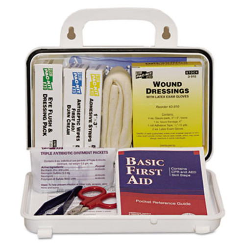 Pac-Kit ANSI Plus #10 Weatherproof First Aid Kit, 76-Pieces, Plastic Case (PKT6410)