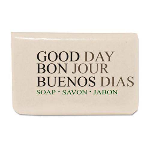 Good Day Amenity Bar Soap, Pleasant Scent, # 3/4, 1000 per carton (GTP 390075)