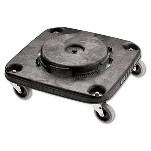 Rubbermaid Brute Container Square Dolly, 250 lb Capacity, Black (RCP 3530)
