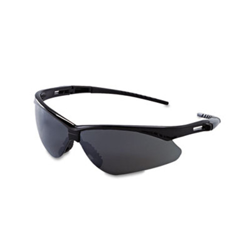 Jackson Safety* V30 Nemesis Safety Glasses, Black Frame, Smoke Lens (KCC 25688)