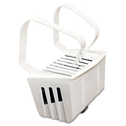 Big D Industries Non-Para Toilet Bowl Block, Lasts 30 Days, White, Evergreen Fragrance, 12/Box (BGD 661)