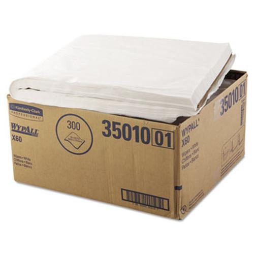 WypAll* X60 Shower Towels, 22 1/2 x 39, White, 100/Box, 3 Boxes/Carton (KCC 35010)