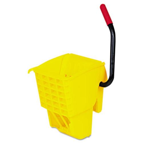 Rubbermaid WaveBrake Side-Press Wringer, Yellow (RCP 6127-88 YEL)