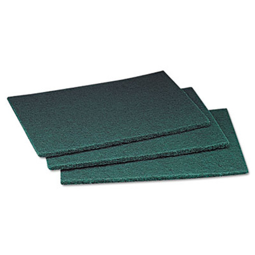 Scotch-Brite PROFESSIONAL Commercial Scouring Pad, 6 x 9, 60/Carton (MCO 08293)