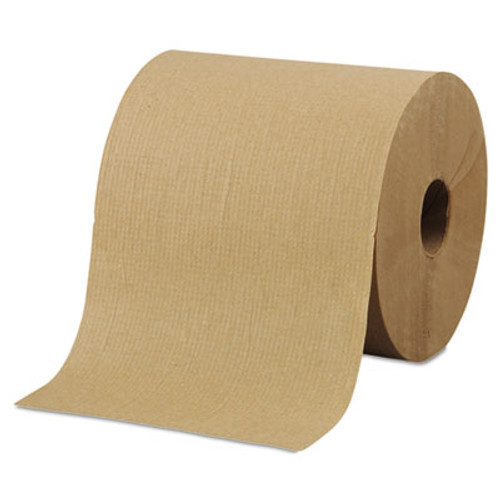 """Morcon Paper Hardwound Roll Towels, 8"""" x 800ft, Brown, 6 Rolls/Carton (MOR R6800)"""