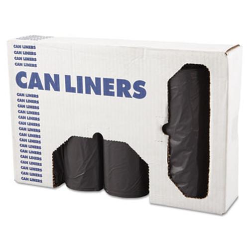Boardwalk XX-Heavy-Grade Can Liners, 43x47, 56gal, 1.1mil, Gray, 25 Bags/RL, 4 Rolls/CT (BWK 4347SEH)
