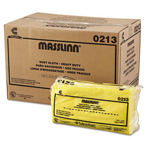Chix Masslinn Dust Cloths, 24 x 16, Yellow, 400/Carton (CHI 0213)