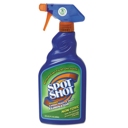 WD-40 Spot Shot Instant Carpet Stain & Odor Eliminator, 22oz Spray Bottle, 6/Carton (WDC 009716)