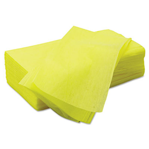 Chix Masslinn Dust Cloths, 22 x 24, Yellow, 150/Carton (CHI 8673)