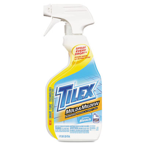 Tilex Mold and Mildew Remover with Bleach, 16oz Smart Tube Spray, 12/Carton (CLO 01100)