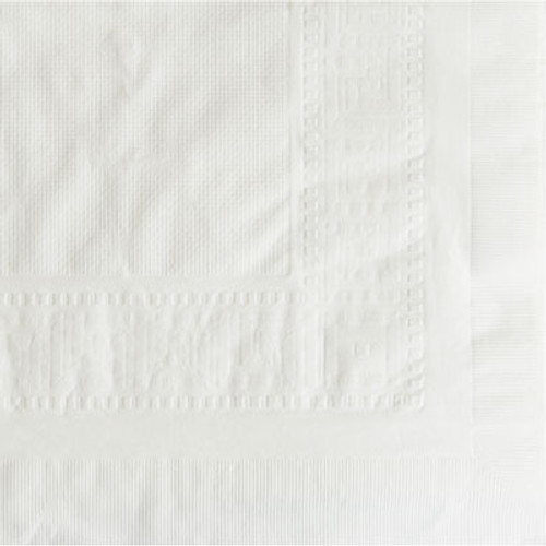 """Hoffmaster Cellutex Tablecover, Tissue/Poly Lined, 54 in x 108"""", White, 25/Carton (HFM 210130)"""