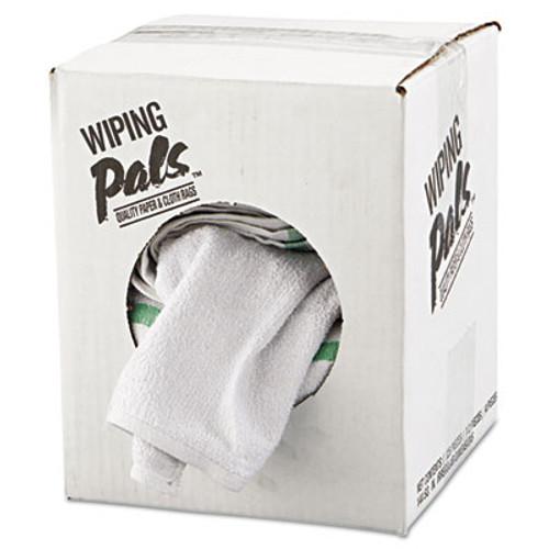 HOSPECO Counter Cloth/Bar Mop, White, Cotton, 12/Bag, 5 Bags/Carton (HOS 536-60-5DZBX)
