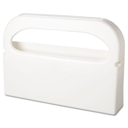 HOSPECO Health Gards Seat Cover Dispenser, 1/2-Fold, White, 16x3.25x11.5, 2/Bx, 6 Bx/Ct (HOS HG-1-2)