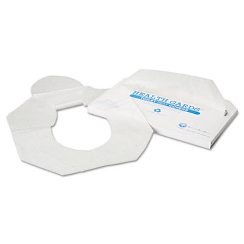HOSPECO Health Gards Toilet Seat Covers, Half-Fold, White, 250/Pack, 4 Packs/Carton (HOS HG-2500)