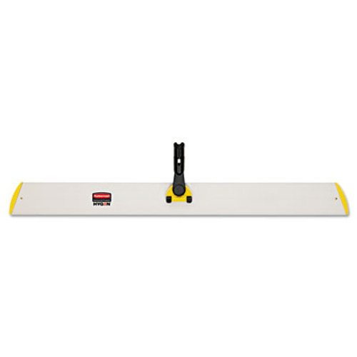 Rubbermaid HYGEN Quick Connect Single-Sided Frame, 36 1/10w x 3 1/2d, Yellow (RCP Q580 YEL)