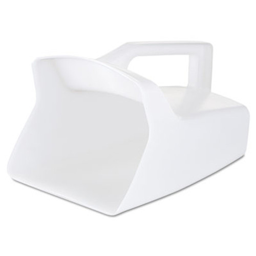 Rubbermaid Commercial Bouncer Bar/Utility Scoop, 64oz, White (RCP 2885 WHI)