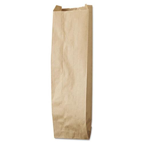 General Quart Paper Liquor Bag, 35lb Kraft, Standard 4 1/4 x 2 1/2 x 16, 500 bags (BAG LQQUART-500)