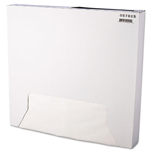Bagcraft Grease-Resistant Paper Wrap/Liner, 15 x 16, White, 1000/Box, 3 Boxes/Carton (BGC 057015)