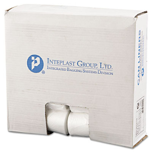 Inteplast Group Low-Density Can Liner, 24 x 33, 16gal, .35mil, Clear, 50/Roll, 20 Rolls/Carton (IBS SL2433LTN)