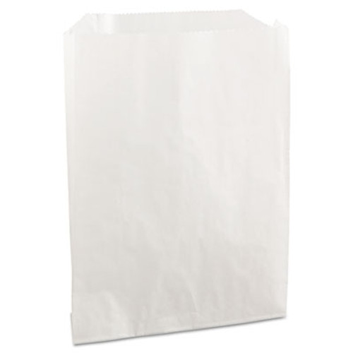 Bagcraft PB19 Grease-Resistant Sandwich/Pastry Bags, 6 x 3/4 x 7 1/4, White, 2000/Carton (BGC 450019)