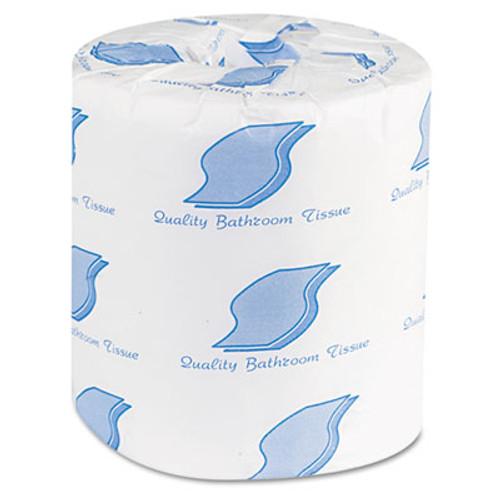 GEN Bath Tissue, 2-Ply, 500 Sheets/Roll, White, 96 Rolls/Carton (GEN 500)