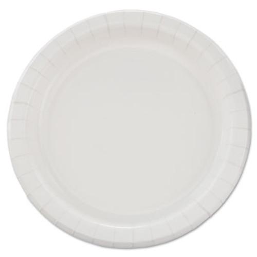 "Dart Bare Eco-Forward Clay-Coated Paper Dinnerware, Plate, 8 1/2"" dia, 500/Carton (SCC MP9B)"
