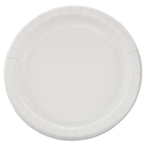 "Dart Bare Eco-Forward Clay-Coated Paper Dinnerware, Plate, 8 1/2"" dia, 500/Carton (SCC MP9B)"