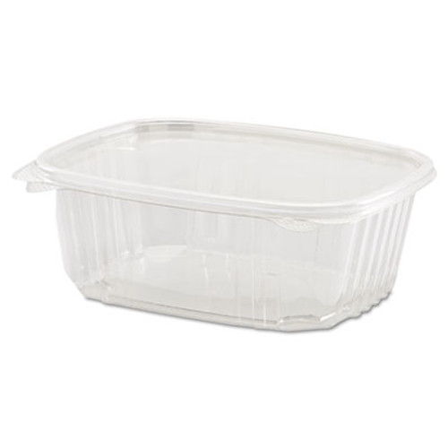 Genpak Clear Hinged Deli Container, 32oz, 7 1/4 x 6 2/5 x 2 5/8, 100/Bag, 2 Bags/Carton (GNP AD32)