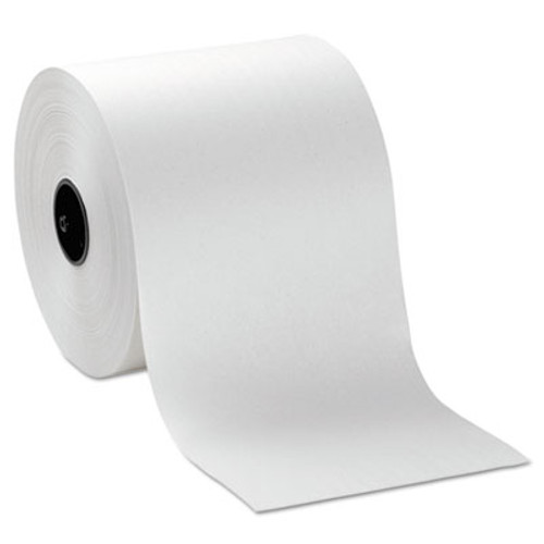 "Georgia Pacific Hardwound Roll Paper Towels, 7"" x 1000ft, White, 6 Rolls/Carton (GPC 269-10)"
