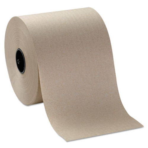 Georgia Pacific Hardwound Roll Paper Towels, 7 4/5 x 1000ft, Brown, 6 Rolls/Carton (GPC 269-20)