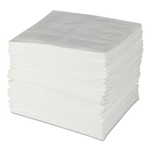 SPC ENV MAXX Enhanced Oil Sorbent Pads, .24gal, 15w x 19l, White, 100/Bundle (SBD ENV300)