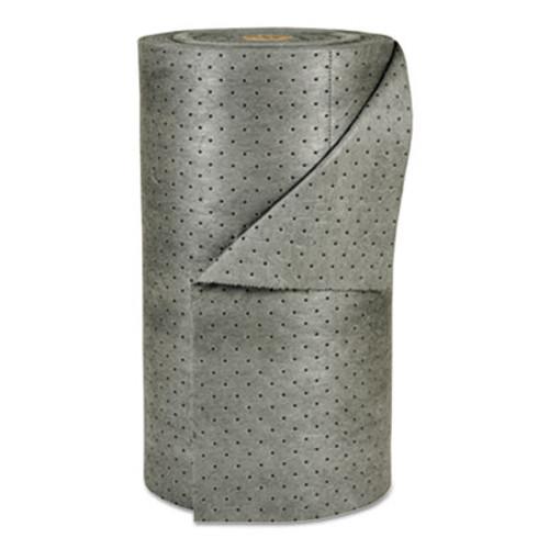 """SPC MRO Plus Heavy Sorbent-Pad Roll, 49gal, 30"""" x 150ft, Gray (SBD MRO30-DP)"""