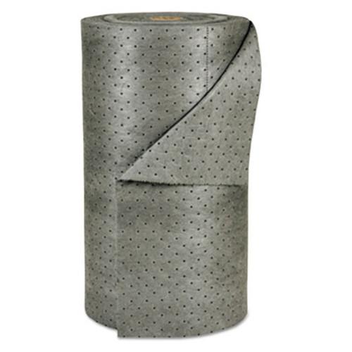 """SPC MRO Plus Medium Sorbent-Pad Roll, 38gal, 30"""" x 150ft, Gray (SBD MRO350-DP)"""