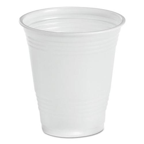 Boardwalk Translucent Plastic Cold Cups, 14oz, 50/Bag, 20 Bags/Carton (BWK TRANSCUP14)