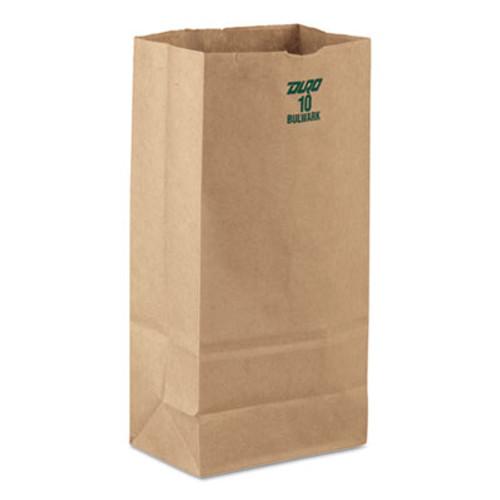 General #10 Paper Grocery, 60lb Kraft, Extra-Heavy-Duty 6 5/16x4 3/16 x12 3/8, 1000 bags (BAG GX10)