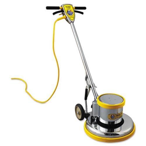 """Mercury Floor Machines PRO-175-17 Floor Machine, 1.5 HP, 175 RPM, 16"""" Brush Diameter (MFM PRO-17)"""
