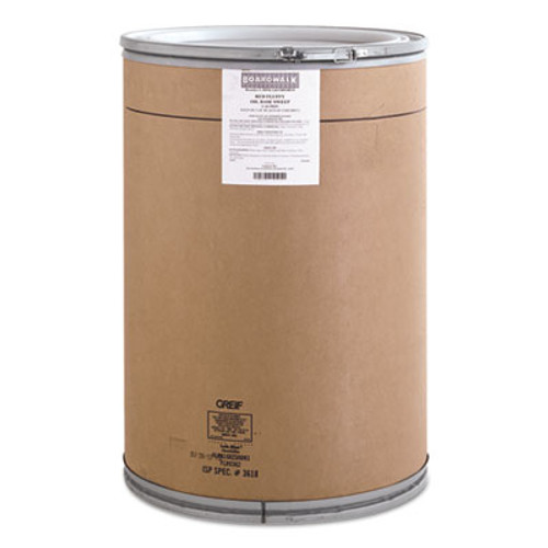 Boardwalk Oil-Based Sweeping Compound, Grit-Free, Red, 150lbs Drum (BWK G6COHORED)