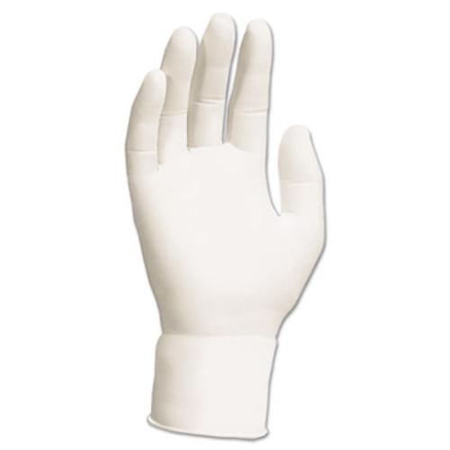 Kimtech* G5 Nitrile Gloves, Powder-Free, 305 mm Length, Small, White, 100/Pack (KCC 56864)