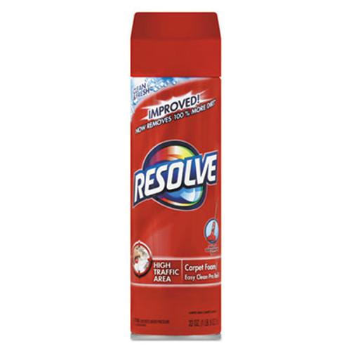 RESOLVE Foam Carpet Cleaner, Foam, 22 oz, Aerosol Can (REC 00706)